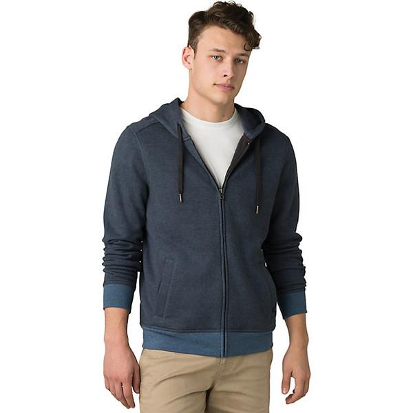 プラーナ メンズ ジャケット&ブルゾン アウター Prana Men's Cardiff Fleece Full Zip Jacket Nickel Stripe