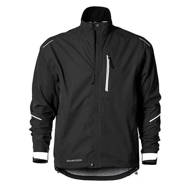 シャワーパス メンズ ジャケット&ブルゾン アウター Showers Pass Men's Transit Jacket CC Black