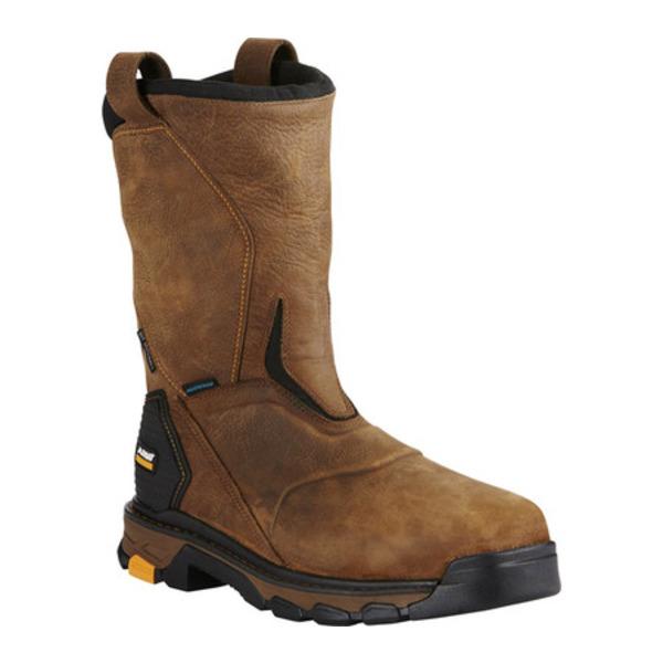 アリアト メンズ ブーツ&レインブーツ シューズ Intrepid Pull-On H2O Composite Toe Boot Rye Brown Full Grain Leather