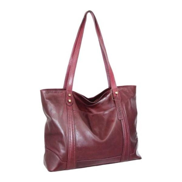 ニノボッシ レディース ショルダーバッグ バッグ Tiara Leather Tote Burgundy