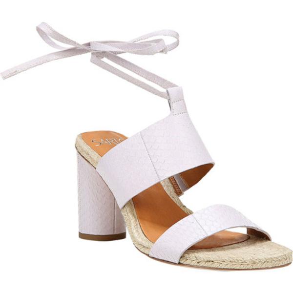 サルトバイフランコサルト レディース サンダル シューズ Obi 3 Heeled Ankle Strap Sandal Lilac Matte Mamba Snake Leather