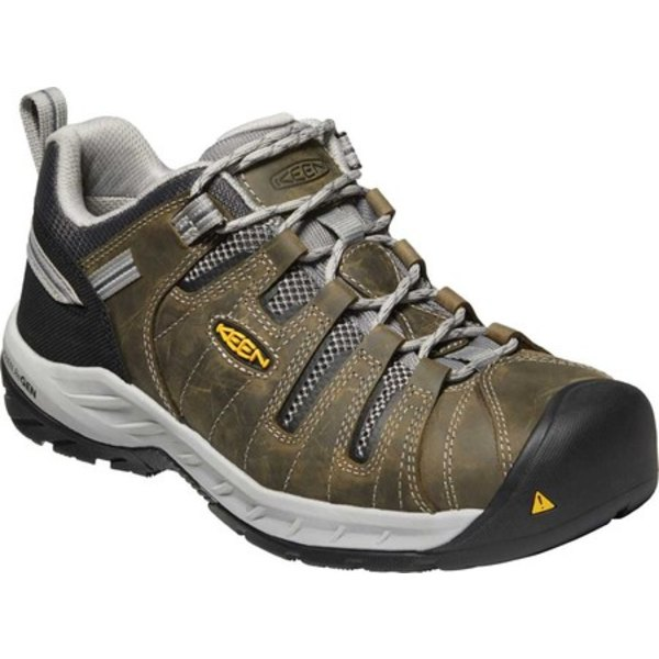 キーン メンズ ブーツ&レインブーツ シューズ Flint II Steel Toe Work Shoe Gargoyle/Paloma Leather/Mesh