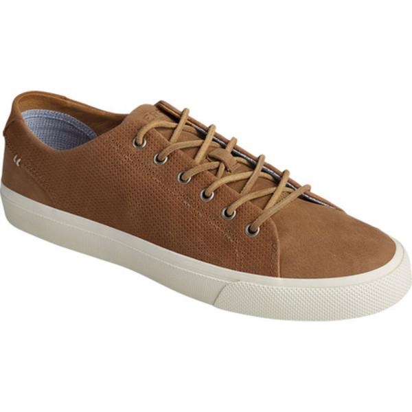 トップサイダー メンズ ブーツ&レインブーツ シューズ Striper PlushWave LTT Sneaker Sand Full Grain Leather