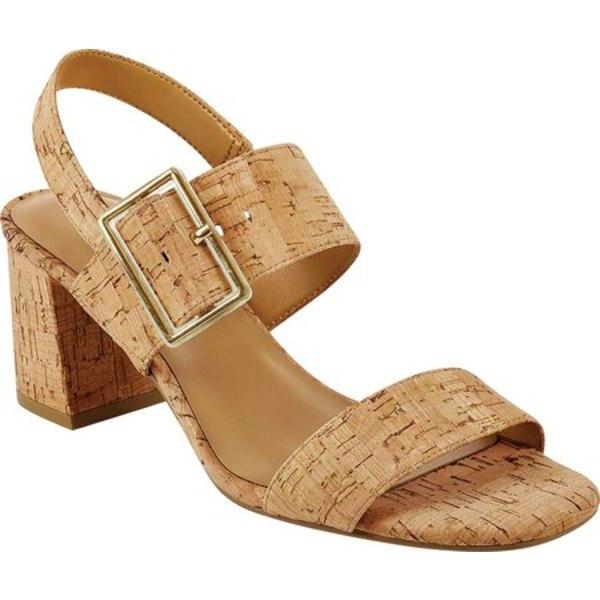 エアロソールズ レディース サンダル シューズ Essex Heeled Slingback Sandal Combination Cork