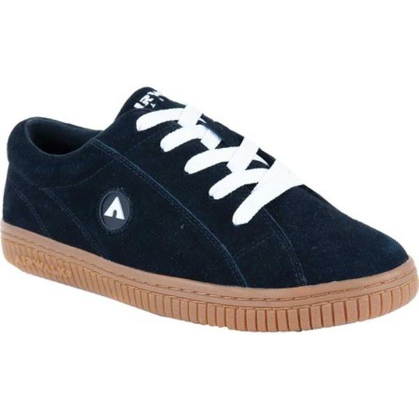 エアウォーク メンズ スニーカー シューズ The One Skate Shoe Black/White/Gum Suede