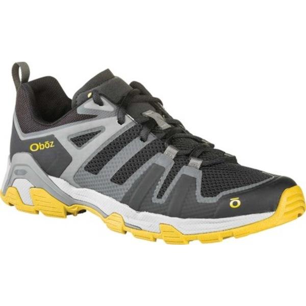オボズ メンズ ブーツ&レインブーツ シューズ Arete Low Trail Shoe Shadow/Sulfur Weather-Resistant Mesh/TPU