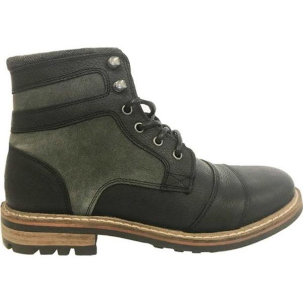 クレボ メンズ ブーツ&レインブーツ シューズ Kardinn Ankle Boot Black Leather