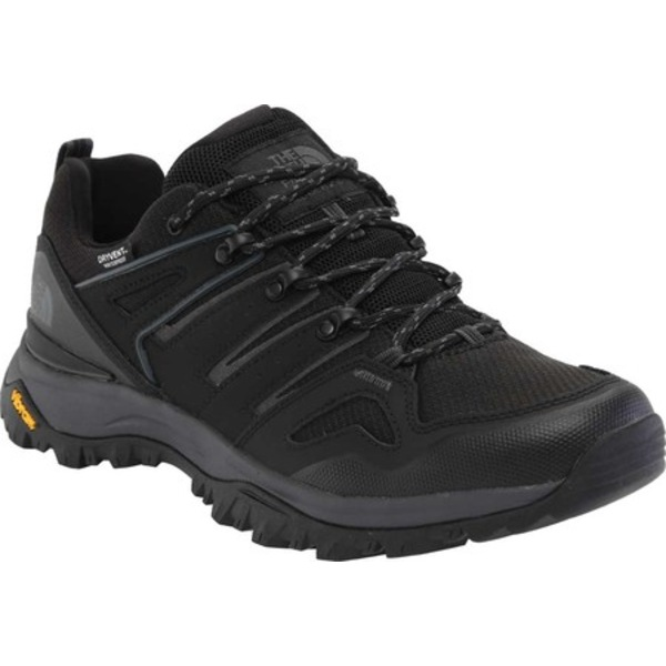 ノースフェイス メンズ ブーツ&レインブーツ シューズ Hedgehog Fastpack II Waterproof Hiking Shoe TNF Black/Dark Shadow Grey