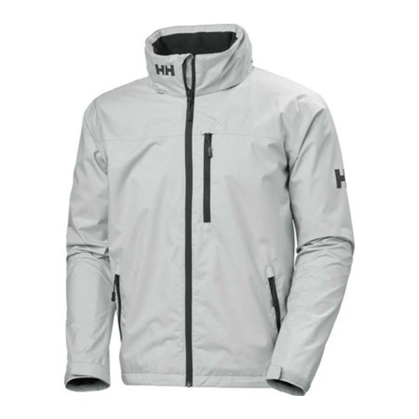 ヘリーハンセン メンズ ジャケット&ブルゾン アウター Crew Hooded Jacket Grey Fog