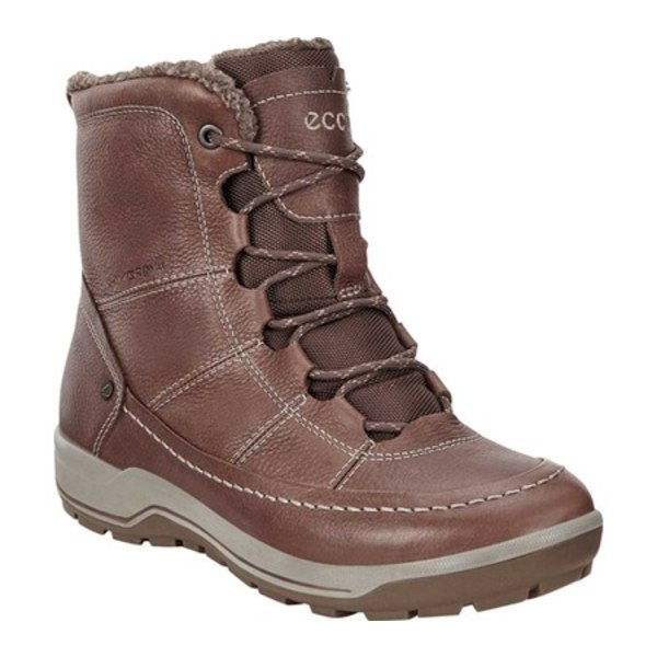 エコー レディース ブーツ&レインブーツ シューズ Trace Lite Mid Hydromax Winter Boot Cocoa Brown Cow Nubuck