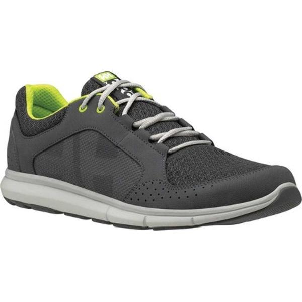 ヘリーハンセン メンズ スニーカー シューズ Ahiga V4 Hydropower Sneaker Charcoal/Ebony/Light Grey/Azid Lime Synthetic
