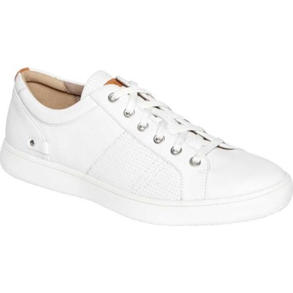 ロックポート メンズ スニーカー シューズ Classic Lite Colle Tie Sneaker White Leather