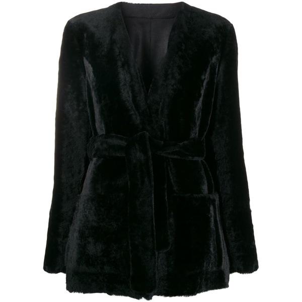 ドローミー レディース ジャケット&ブルゾン アウター DROMe Kimono Jacket Black