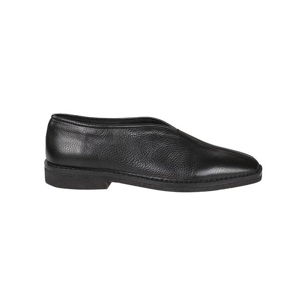 ルメール メンズ スニーカー シューズ Lemaire Chinese Slippers Shoes Black