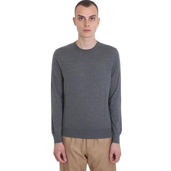 エルメネジルド・ゼニア メンズ ニット&セーター アウター Ermenegildo Zegna Knitwear In Grey Wool grey