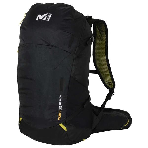 ミレー メンズ バッグ バックパック リュックサック Black riia014d Airflow 販売期間 限定のお得なタイムセール Millet おすすめ特集 Yari 30L 全商品無料サイズ交換