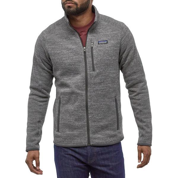 パタゴニア メンズ ジャケット&ブルゾン アウター Patagonia Men's Better Sweater Fleece Jacket Nickel