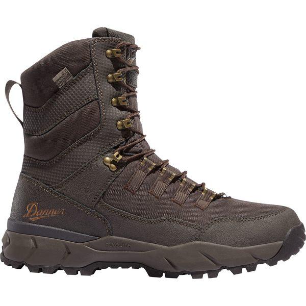 ダナー メンズ ブーツ&レインブーツ シューズ Danner Men's Vital 8'' 400g Waterproof Hunting Boot Brown