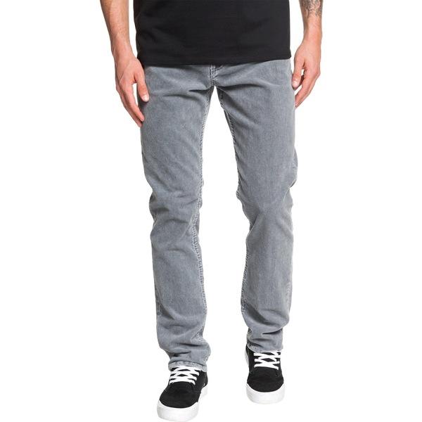 クイックシルバー メンズ カジュアルパンツ ボトムス Quiksilver Men's Kracker Corduroy Pants IronGate