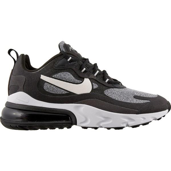 ナイキ レディース スニーカー シューズ Nike Women's Air Max 270 React Shoes Black/VastGrey