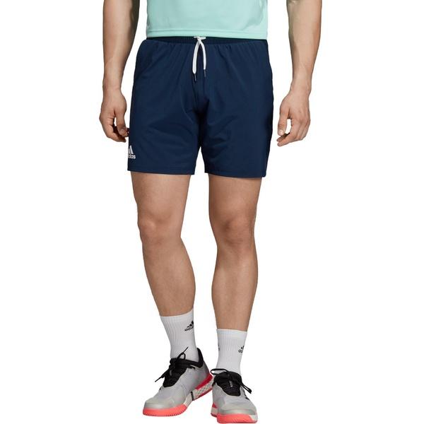 アディダス メンズ カジュアルパンツ ボトムス adidas Men's Club Stretch Woven Tennis Shorts CollegiateNavy