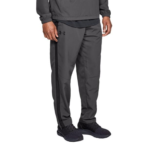 アンダーアーマー メンズ カジュアルパンツ ボトムス Under Armour Men's Sportstyle Woven Pants (Regular and Big & Tall) Charcoal/Charcoal