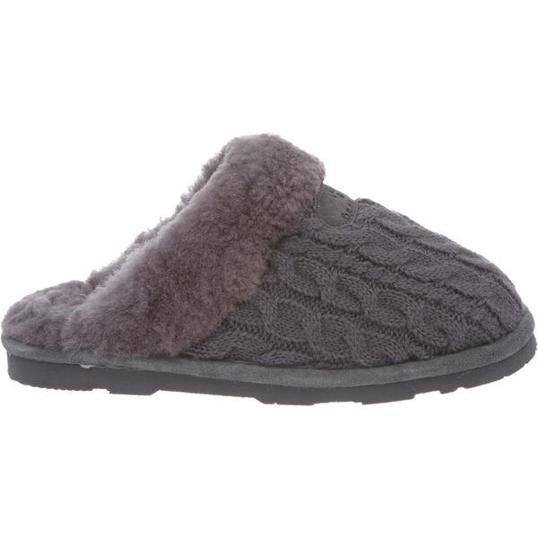 BEARPAW レディース シューズ 未使用品 スニーカー Charcoal ベアパウ Effie 全商品無料サイズ交換 Women's Slippers お気にいる