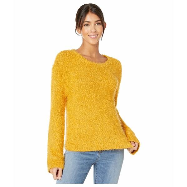 Get レディース ニット&セーター Harvest A Crew Sweater ビービーダコタ Yellow アウター