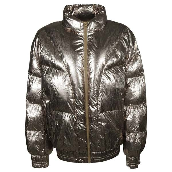 イザベル マラン レディース ジャケット&ブルゾン アウター Isabel Marant Kristen Padded Jacket MetallicBronze