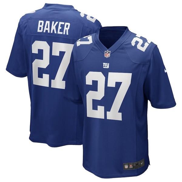 ナイキ メンズ シャツ トップス Deandre Baker New York Giants Nike Game Player Jersey Royal