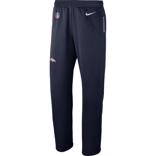 ナイキ メンズ カジュアルパンツ ボトムス Denver Broncos Nike Sideline Performance Pants Navy