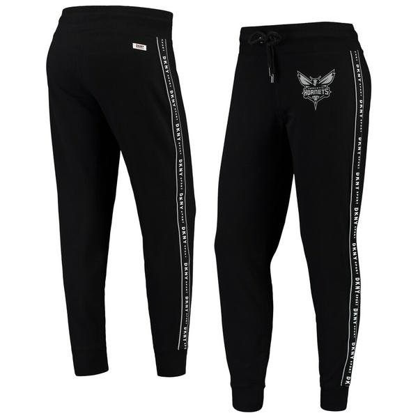 ダナキャラン レディース カジュアルパンツ ボトムス Charlotte Hornets DKNY Sport Women's Brooke Jogger Pants Black