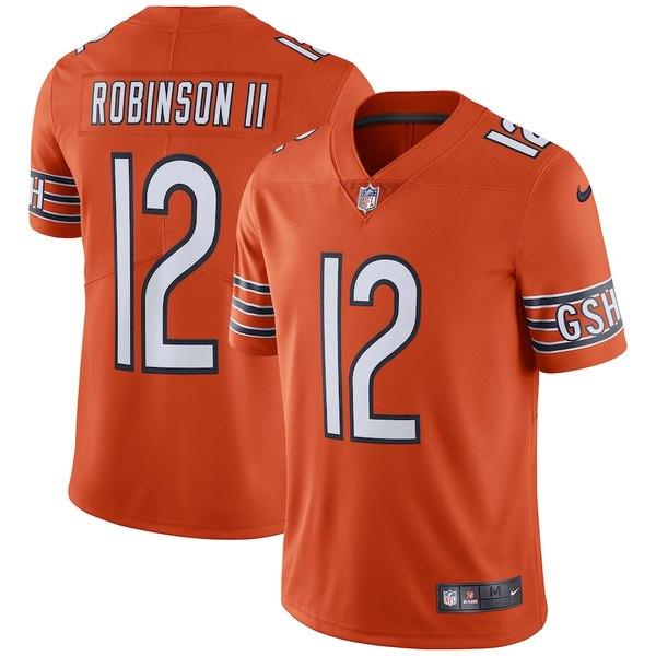 ナイキ メンズ シャツ トップス Allen Robinson Chicago Bears Nike Team Color Vapor Untouchable Limited Jersey Orange