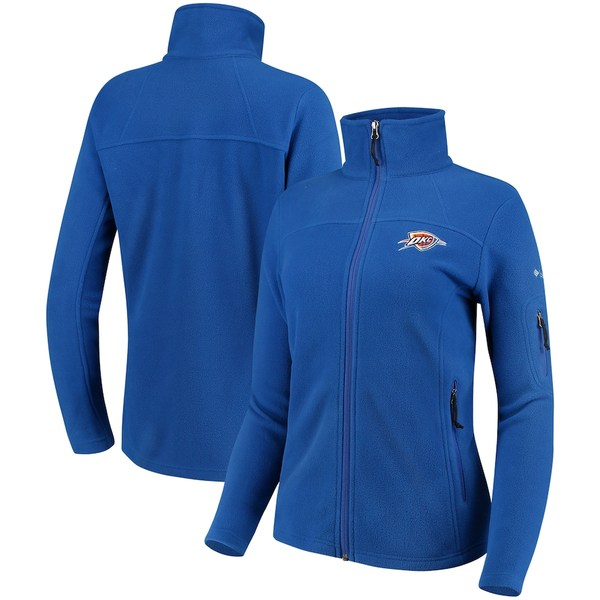 コロンビア レディース ジャケット&ブルゾン アウター Oklahoma City Thunder Columbia Women's Give & Go Full-Zip Jacket Royal