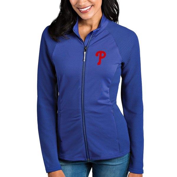 アンティグア レディース ジャケット&ブルゾン アウター Philadelphia Phillies Antigua Women's Sonar Full-Zip Jacket Royal