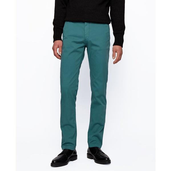 品質のいい ヒューゴボス メンズ カジュアルパンツ ボトムス BOSS Men&39;s Rice3-D Slim-Fit Chinos Open Green, ワイシャツメーカー直販 Abiti b57a5f1f