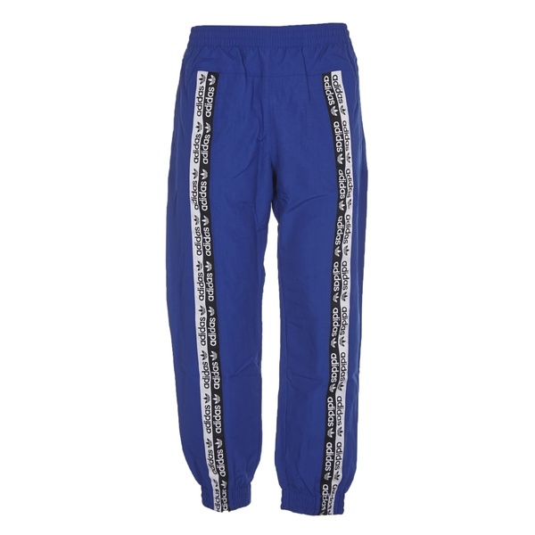 アディダスオリジナルス メンズ カジュアルパンツ ボトムス Adidas Originals 90s Blue Adidas Trousers Blu
