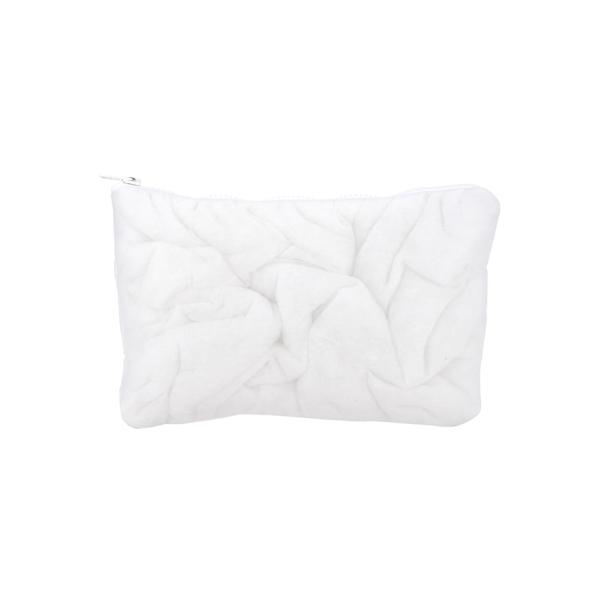 マルタンマルジェラ レディース クラッチバッグ バッグ Mm6 Tulle Clutch Bag WHITE