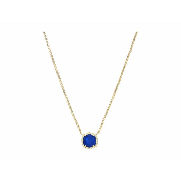ケンドラスコット レディース ネックレス・チョーカー・ペンダントトップ アクセサリー Davie Pendant Necklace Gold Cobalt Howlite