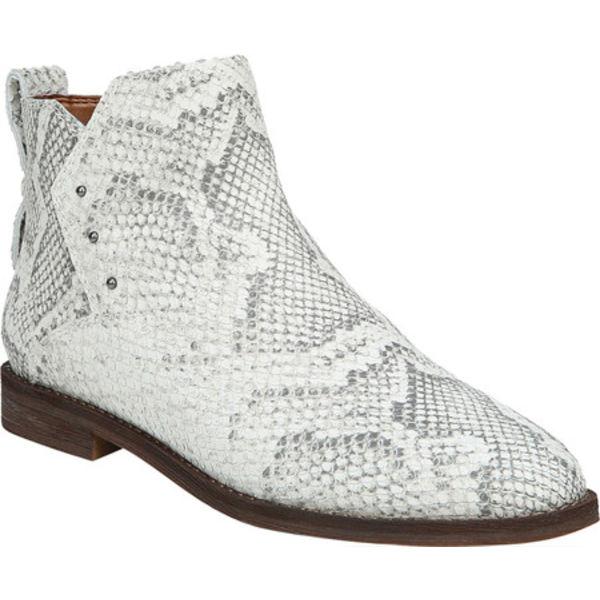 フランコサルト レディース ブーツ&レインブーツ シューズ Owen Ankle Bootie Natural Brushed Python Leather