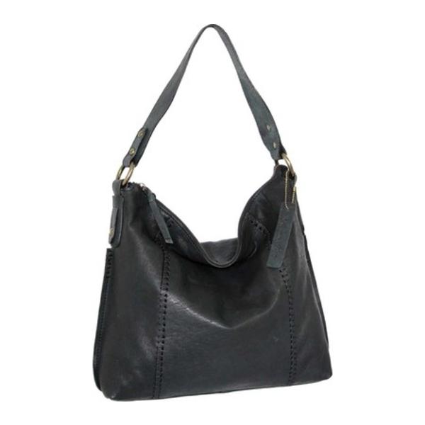 ニノボッシ レディース 財布 アクセサリー Monika Leather Shoulder Bag Black