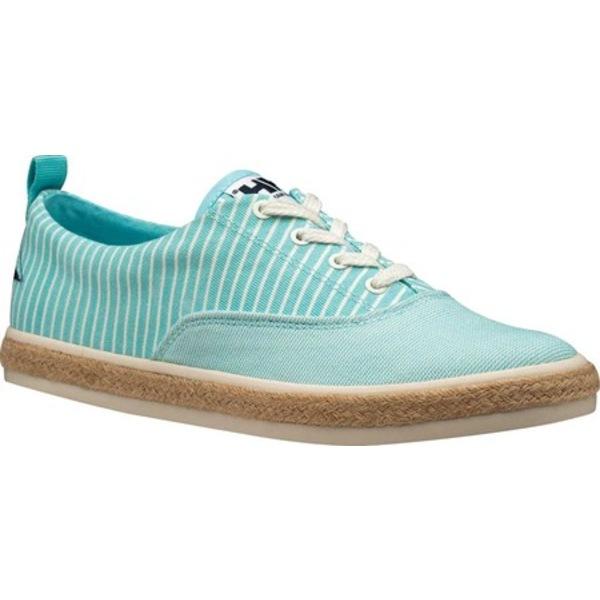 ヘリーハンセン レディース サンダル シューズ Coraline Sneaker Glacier Blue/Whitecap Gray Canvas