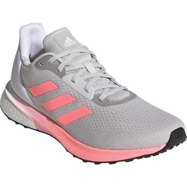 アディダス レディース スニーカー シューズ Astrarun Running Shoe Grey One F17/Light Flash Red/FTWR White