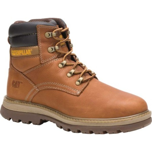 キャタピラー メンズ ブーツ&レインブーツ シューズ Fairbanks Work Boot Trail Full Grain Leather