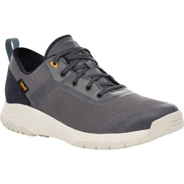 テバ メンズ ブーツ&レインブーツ シューズ Gateway Low Hiking Sneaker Dark Gull Grey Recycled Polyester/Suede