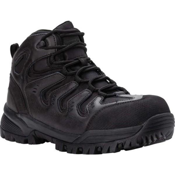 プロペット メンズ ブーツ&レインブーツ シューズ Sentry Composite Toe Boot Black Crazy Horse Leather/Mesh