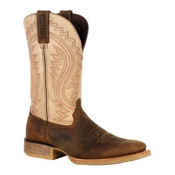 ヂュランゴ メンズ ブーツ&レインブーツ シューズ DDB0290 Rebel Western Boot Coffee/Bone Full Grain Leather