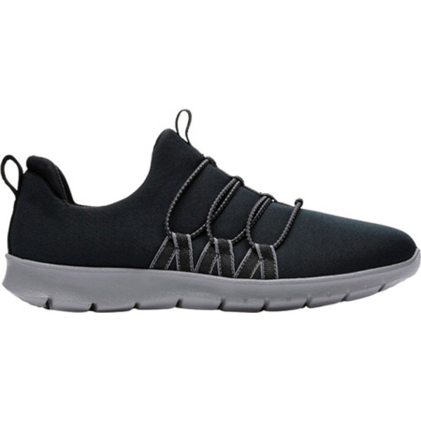 クラークス レディース スニーカー シューズ Step Allena Mae Sneaker Black Textile