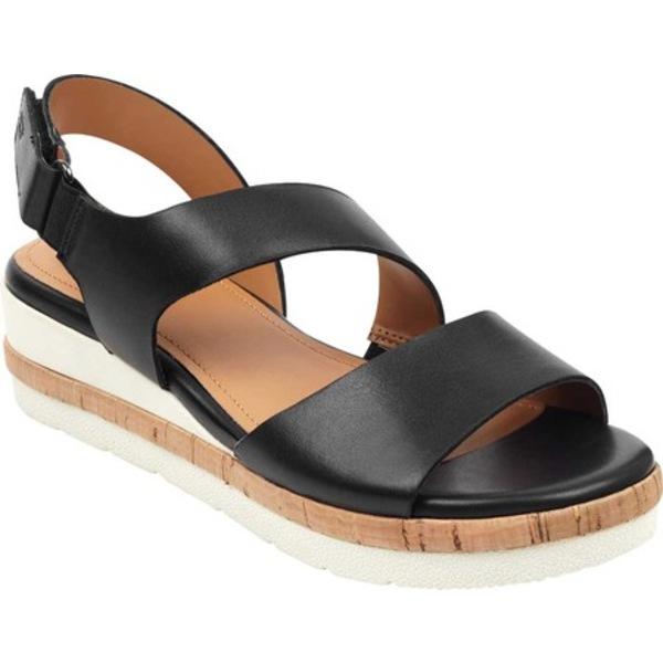 イージースピリット レディース サンダル シューズ EVOLVE Kea Ankle Strap Sandal Black Porto Calf