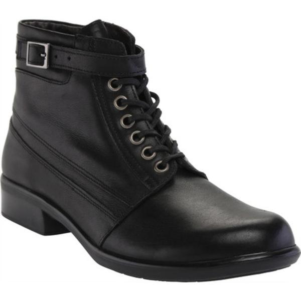 レディース Ankle シューズ ブーツ&レインブーツ Kona ナオト Resistant Water Boot Black Leather